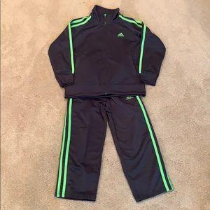 Toddler boy Adidas track suit